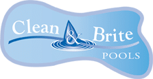 Clean & Brite Pools logo